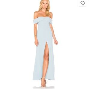 NWT! REVOLVE lovers+friends mint blue gown
